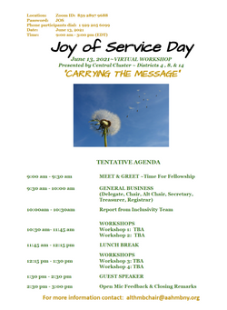 Area48 Joy Of Service Day