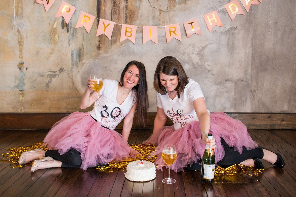 30th Birthday Cake Smash by Miss Cara Photography