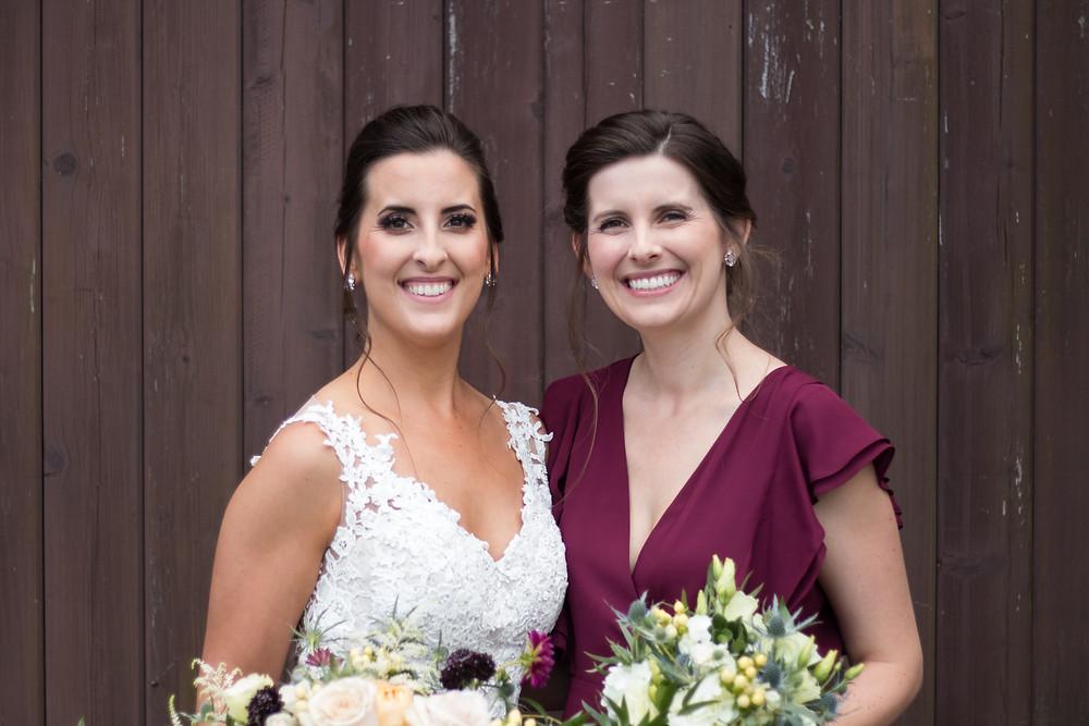 Bridal Party at Trader's Point Creamery + Miss Cara Photography
