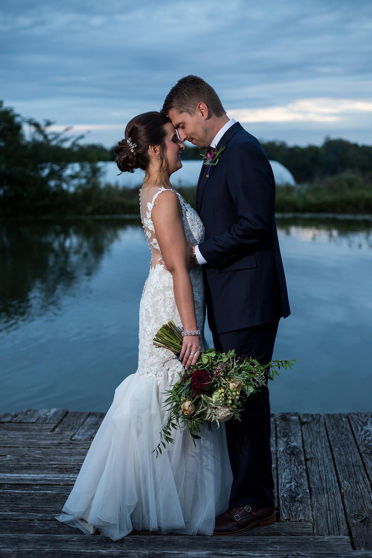 Bride & Groom + Miss Cara Photography