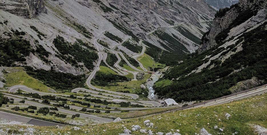 Pass Stelvio Süd Seite