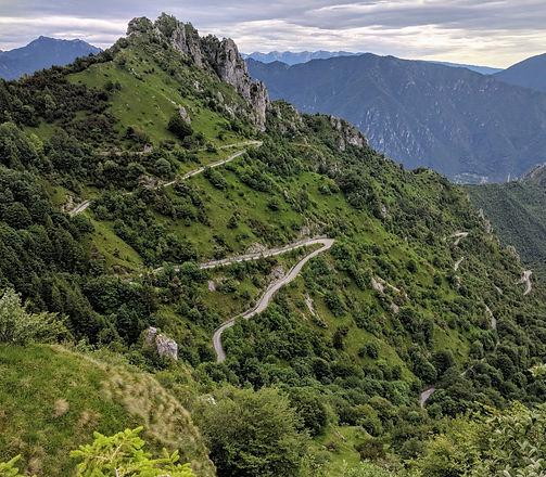 Blick auf den Passo del Spina