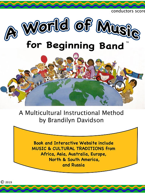 A World of Music for Beginning Band; Multicultural Instructional Method