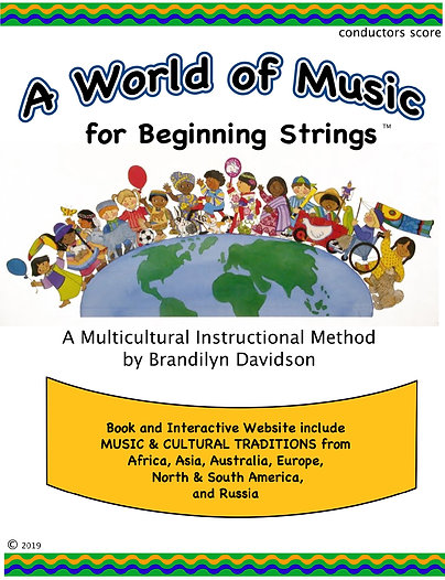 A World of Music for Beginning Strings; Multicultural Instructional Method