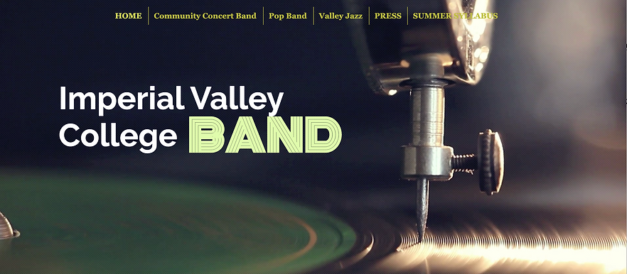 ivc band website home pg