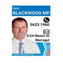 Gary Blackwood MP