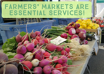 Farmers Markets Essential Services