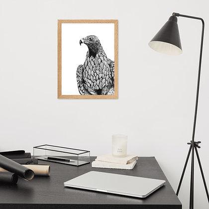 Female Eagle Paper Print