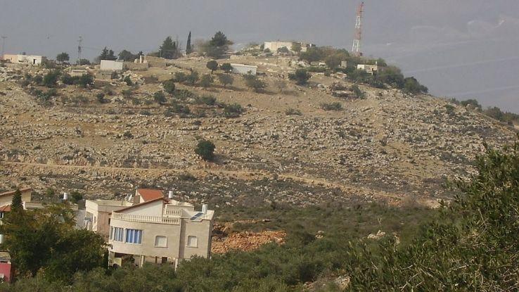 נוף הכפר ערב אל עראמשה