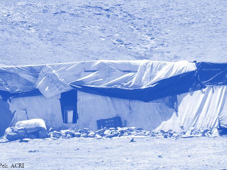 פינוי רועי צאן פלסטינים מבתיהם בחודש הרמדאן