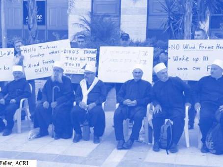 Destructive Wind Turbine Plan in Golan Heights