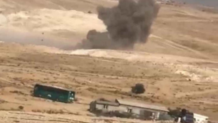 Rocket impact in the unrecognized Bedouin villages