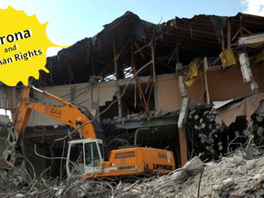 Freeze on Home Demolitions in Israel