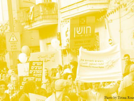 מדיניות של פגיעה בארגוני זכויות אדם – תמונת מצב