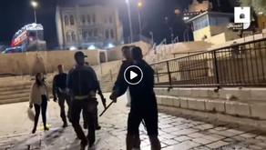 התנהלות פסולה של המשטרה באזור שער שכם בירושלים