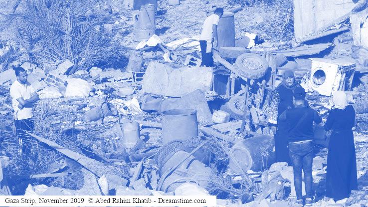 הרס ברצועת עזה, נובמבר 2019