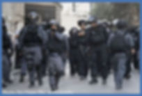 Police in Issawiya
