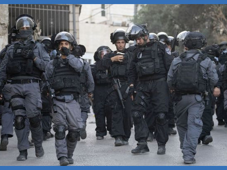 Stop Over-policing in East Jerusalem
