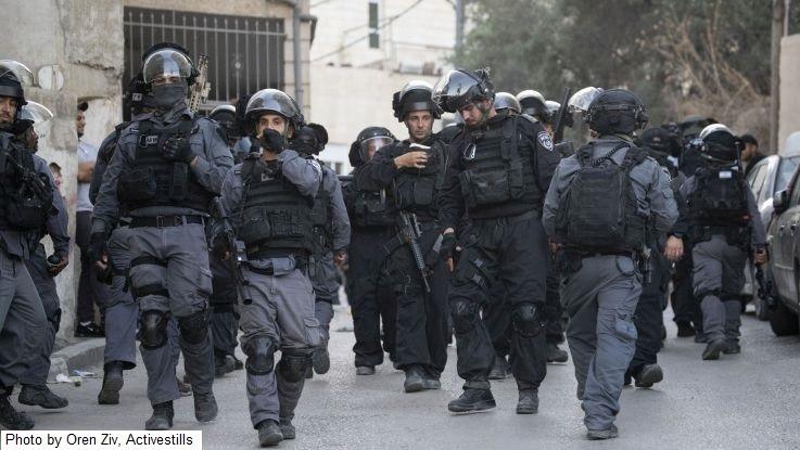 שוטרים בעיסאוויה