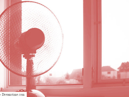בשיא הקיץ, בחום של הנגב, בלי חשמל