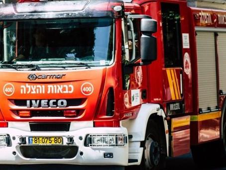שירותי כיבוי אש בשכונות ירושלים המזרחית שמעבר לחומה