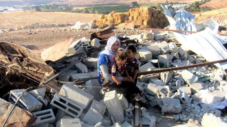 הריסת בתים בבקעת הירדן