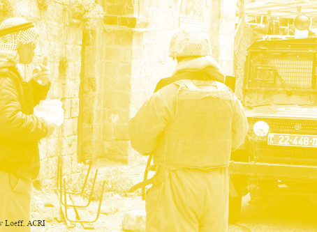 האם מותר לצלם חיילים ומחסומים בחברון?