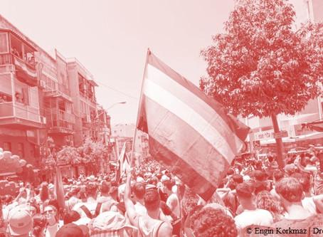 The first Gay Pride Parade in Kfar Saba