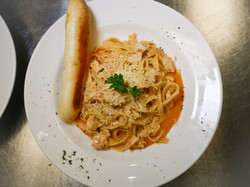 Chicken Fettuccine with Chipotle