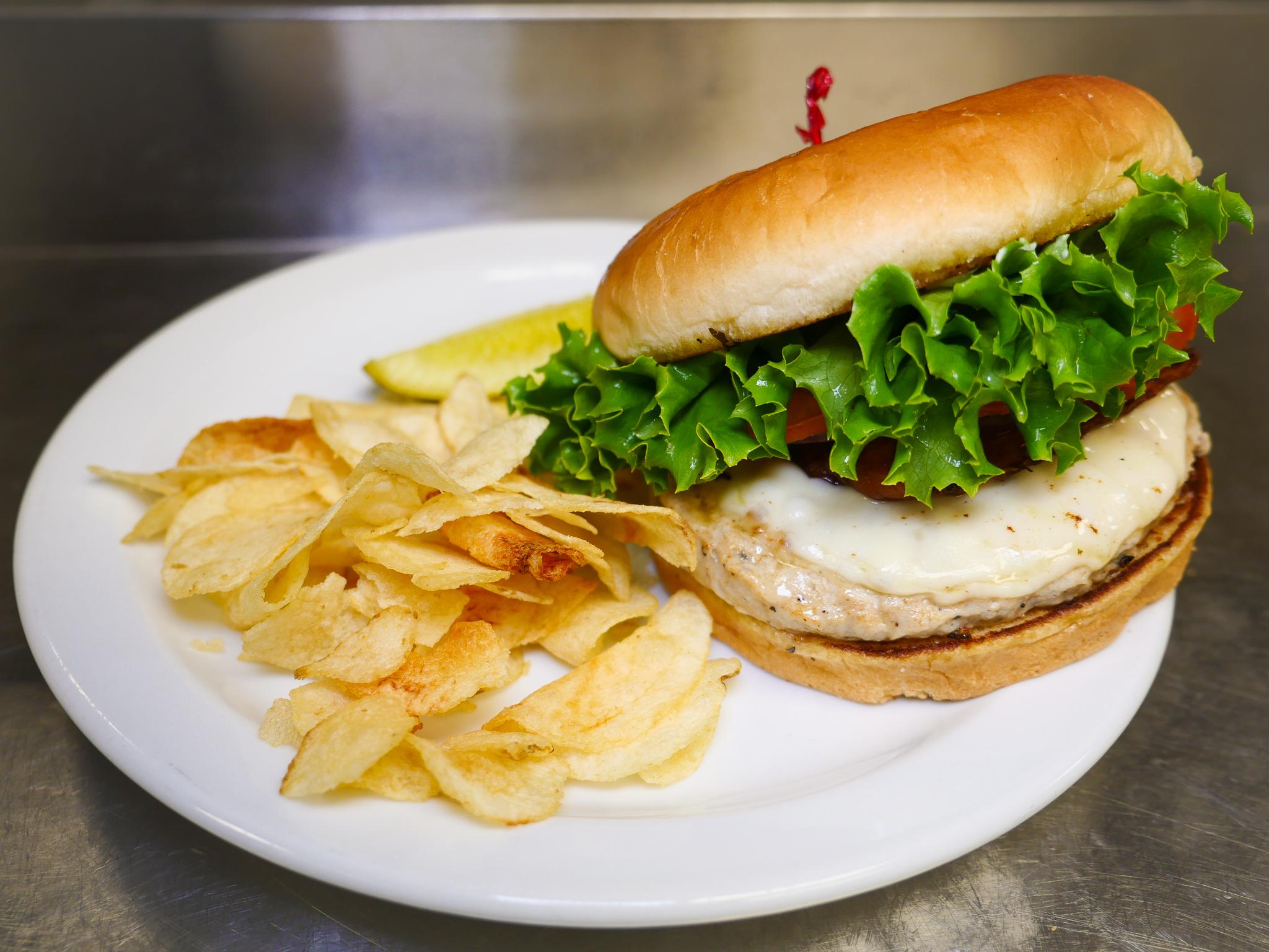 Griddle Chicken Burger