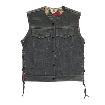 "Ladies OG Club Vest ""Day Of The Dead"""