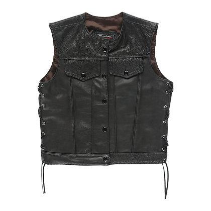 Ladies OG All Leather Club Vest
