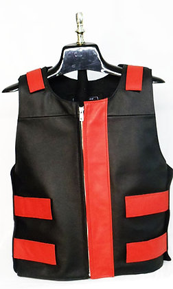 Women's Bullet Proof Style Two-tone Vest