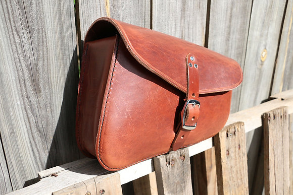 Brown Soft-tail Side Bag