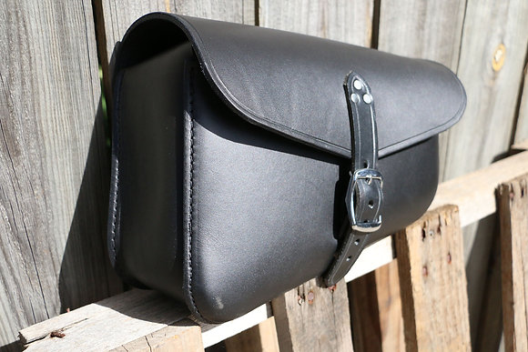 Black Soft-tail Side Bag