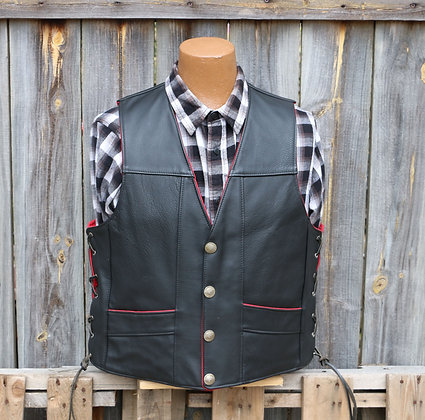 New Style Red Lining Vest