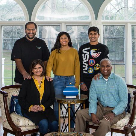 Meet the Thiruselvam Family!