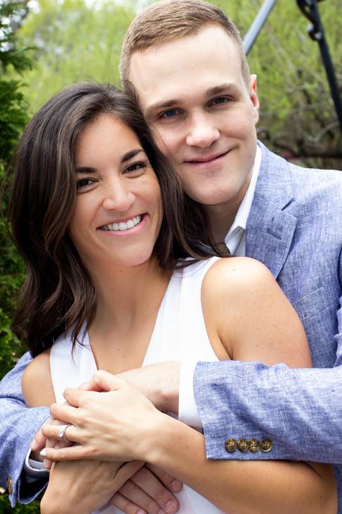 Engagement Portraits at Longwood Gardens