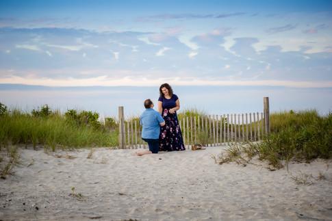 Surprise Proposal at Brigantine Beach