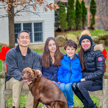 Meet the Family of the Month in the Newtown Square Friends and Neighbors Magazine