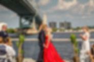 Wedding at Race Street Pier, Philadelphi