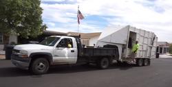 truck trailer flag