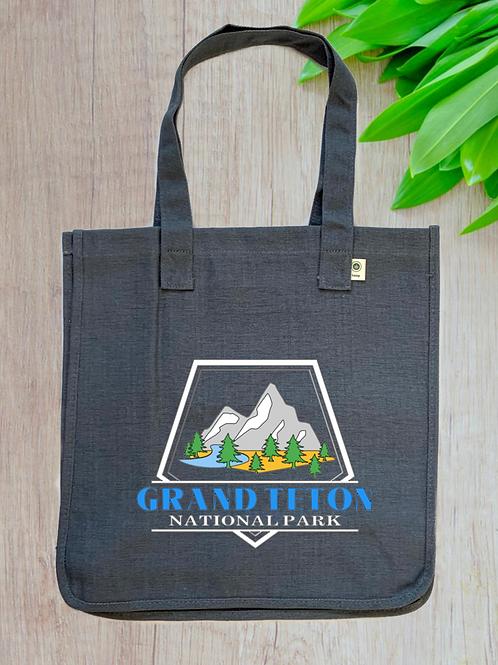 Grand Teton National Park Hemp Tote