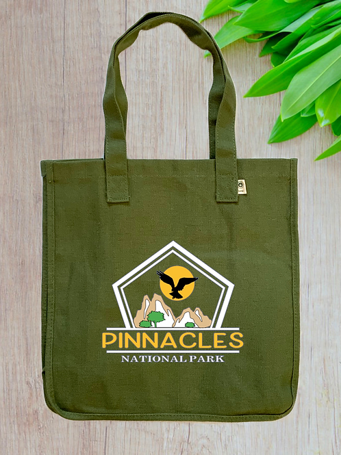 Pinnacles National Park Hemp Tote