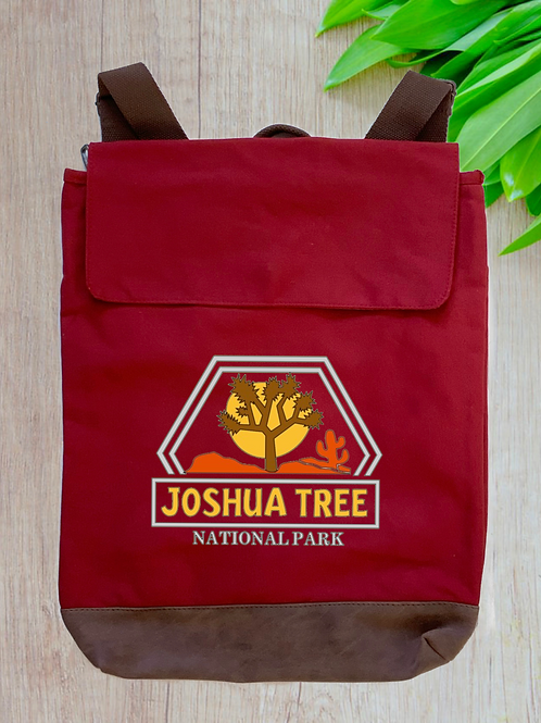 Joshua Tree National Park Canvas Rucksack