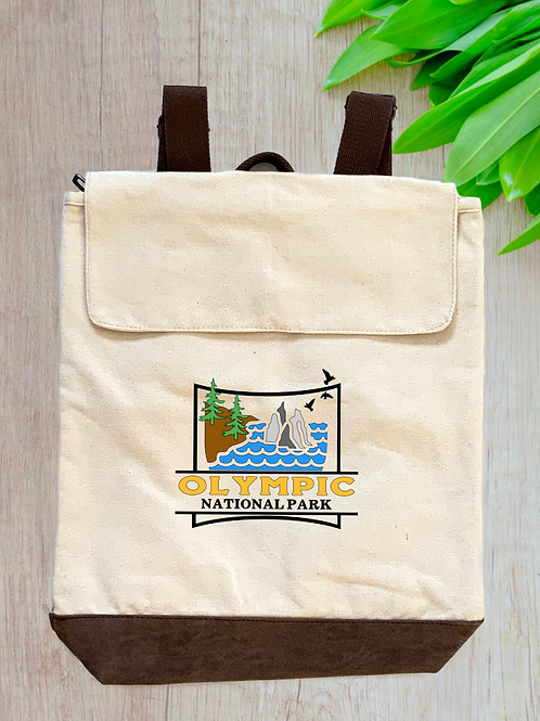 Olympic National Park Canvas Rucksack