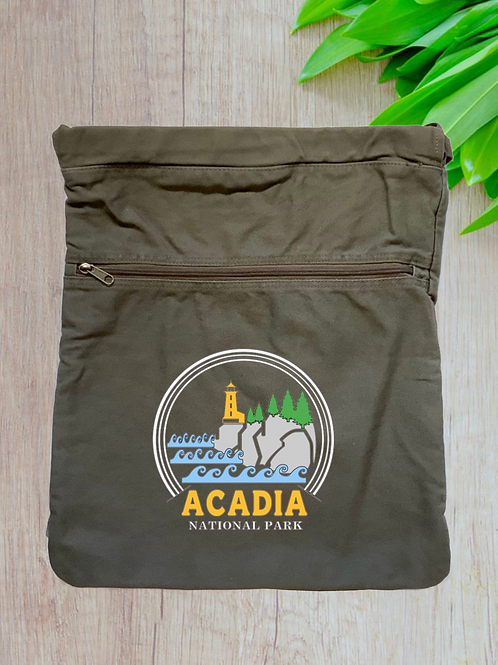 Acadia National Park Cinch Bag