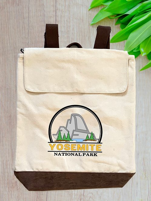 Yosemite National Park Canvas Rucksack
