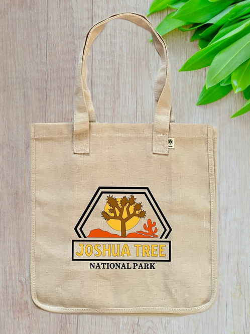 Joshua Tree National Park Hemp Tote