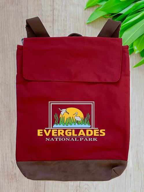 Everglades National Park Canvas Rucksack